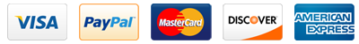 American Mastercard Visa Paypal Discover